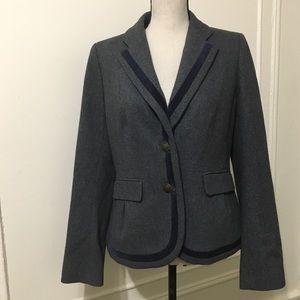 Loft Wool Blend Blazer/ Short Coat